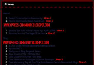 sitemap xc blog