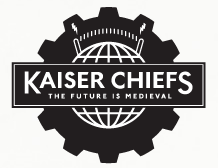 logotipo do álbum the future is medieval da banda Kaizer Chief