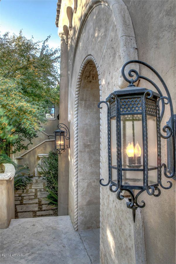 A distinctive spanish colonial revival residence for Spanish revival lighting