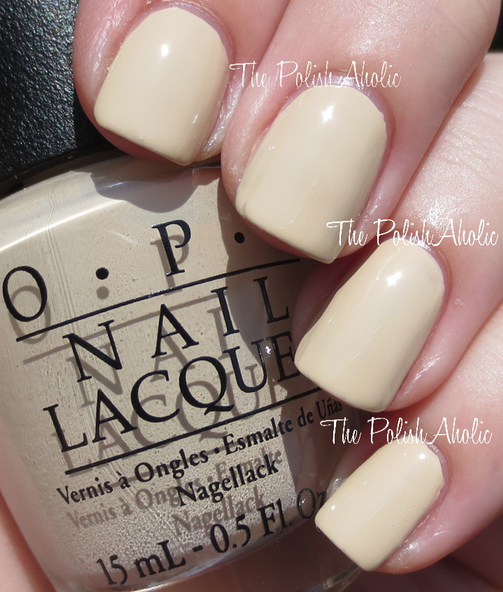 The PolishAholic: OPI Coca-Cola Collection Swatches & Review