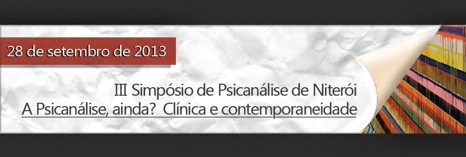 Simpósio de Psicanálise de Niterói