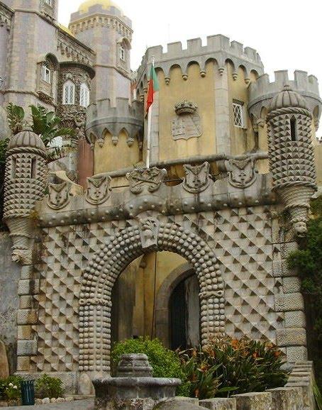 Visitar Portugal Visitar O Pal Cio Da Pena S O Pedro De