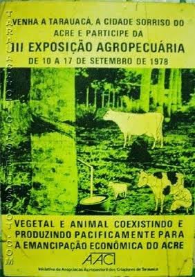 3ª EXPO TARAUACÁ - 1978