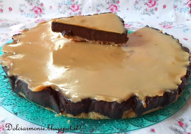 la torta della felicita' alle due salse per il contest della zietta