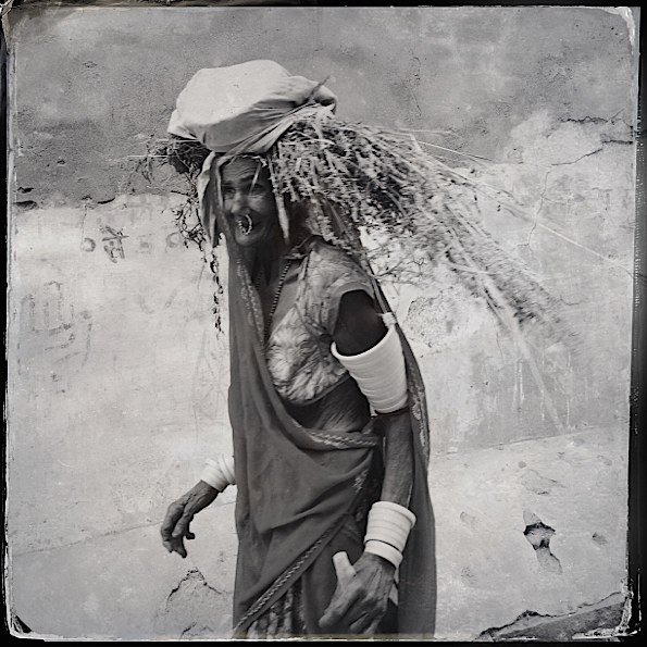Old woman in Narlai © Connie Gardner Rosenthal