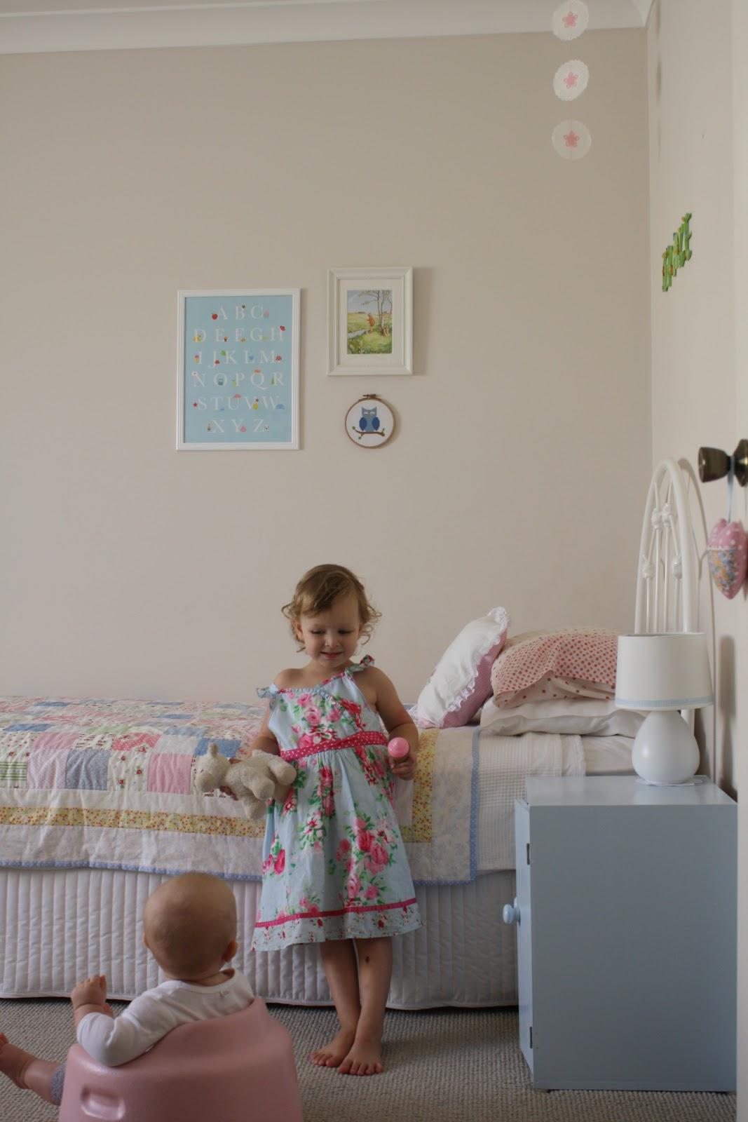 Graceu0027s Bedroom: Nursery To U0027Big Girlu0027s Roomu0027 Makeover