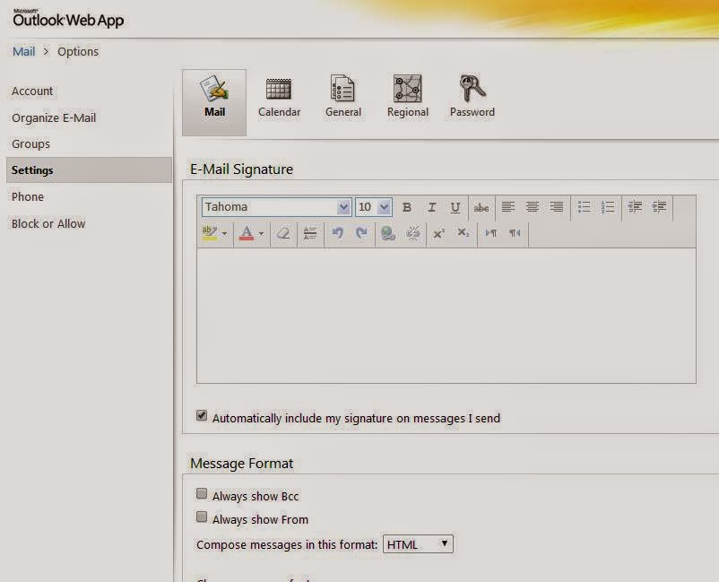 how to add an image to outlook email