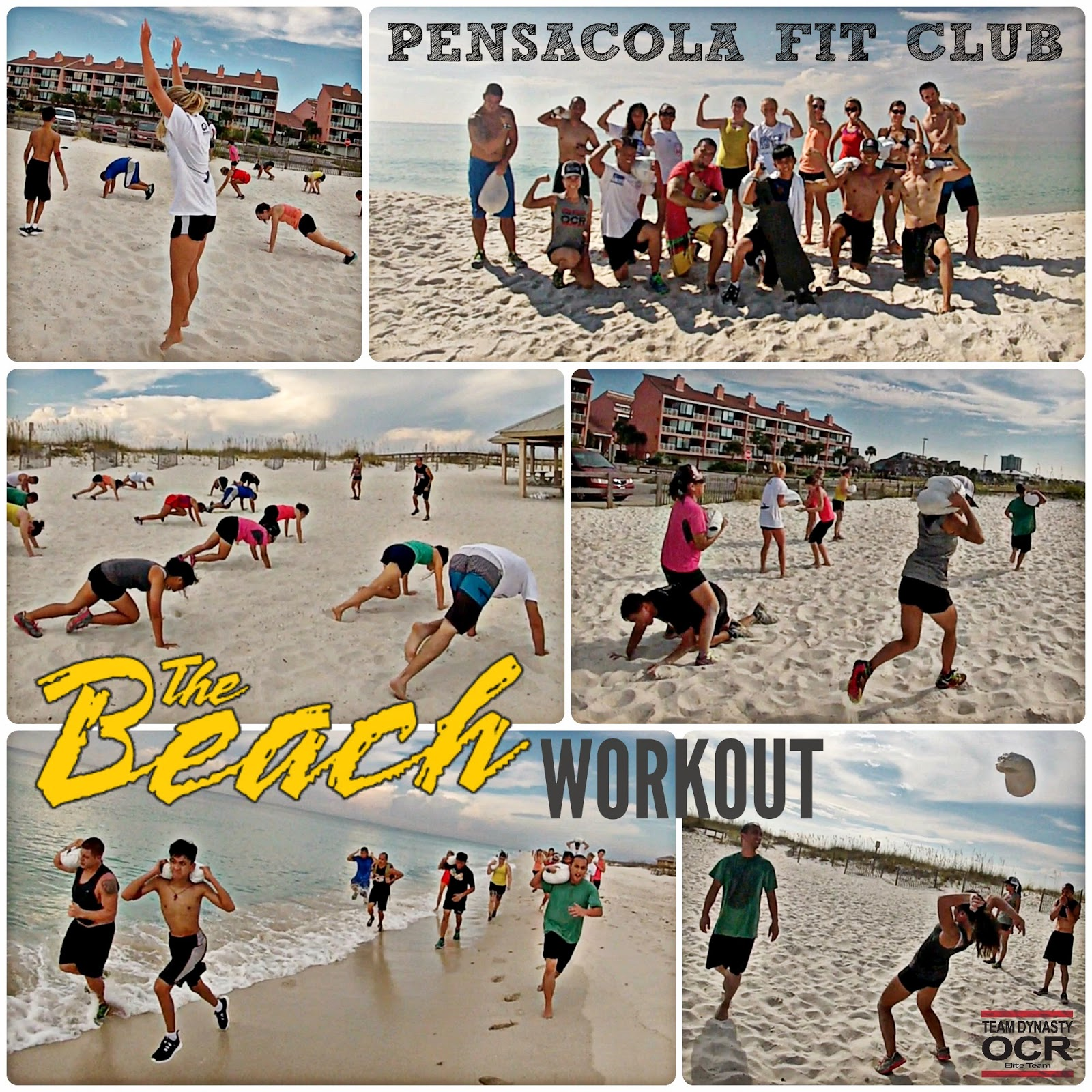 Pensacola Beach Workout - Pensacola Fit Club