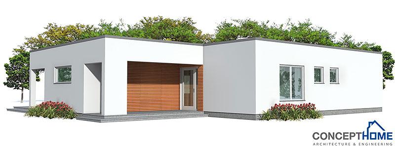 Contemporary House Plans Small Contemporary House Plan