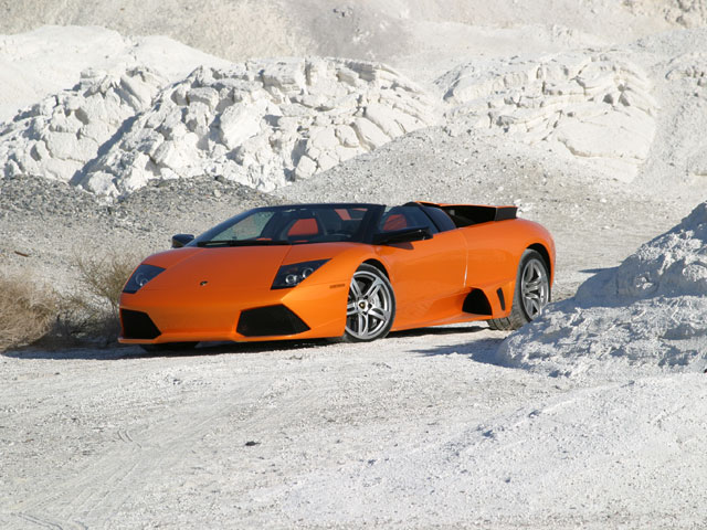 The Lamborghini Murci�lago is