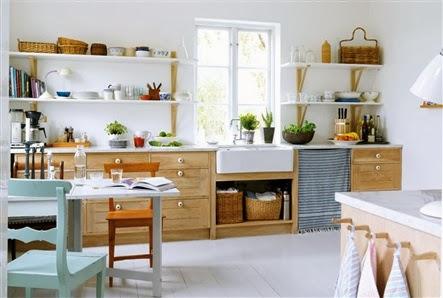 amenajari, interioare, decoratiuni, decor, design interior, bucatarie, rustic, pastel