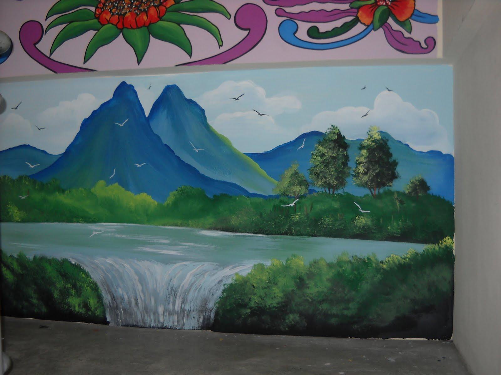 Pelukis mural shah alam mural sekolah for Mural kartun