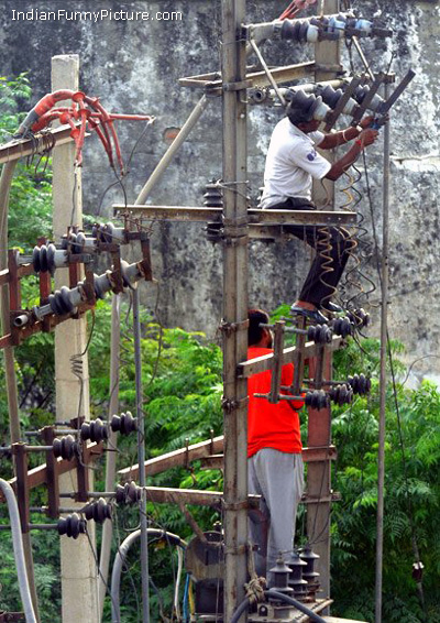 its happen only in india funny unseen indian electricity pictures