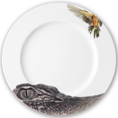 Elefántos tányér
