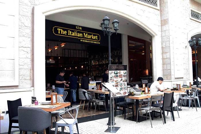 The Italian Market by Murray's New Orleans Resorts World Manila