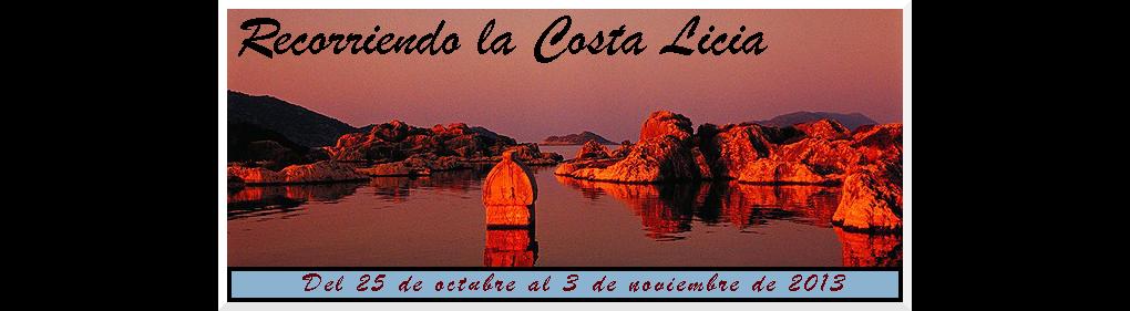 Recorriendo la Costa Licia