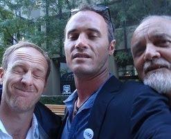 Os três companheiros.