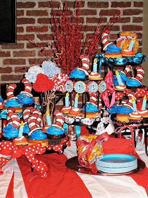 Dr. Seuss inspired party