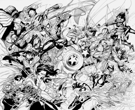 Ultimate Avengers Coloring Pages : Unique comics animation great avengers coloring pages