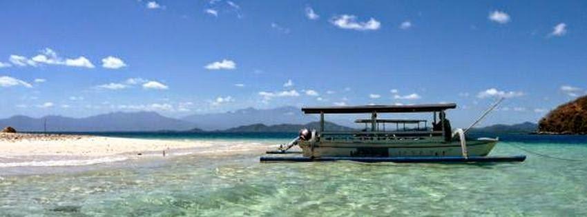 Couverture facebook HD plage Bali