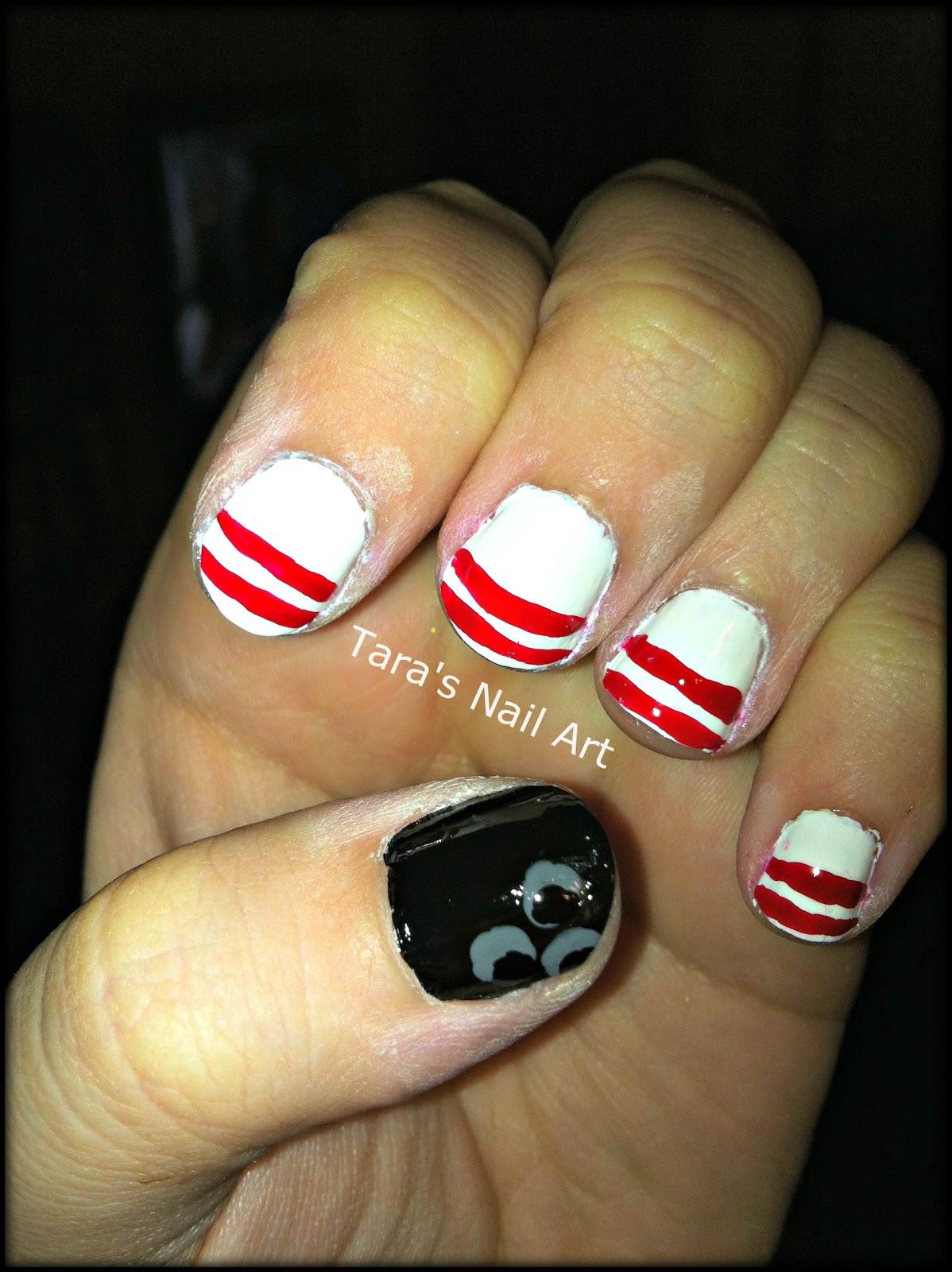 Tara\'s Nail Art: Let\'s Bowl, Let\'s Bowl, Let\'s Rock n\' Roll!