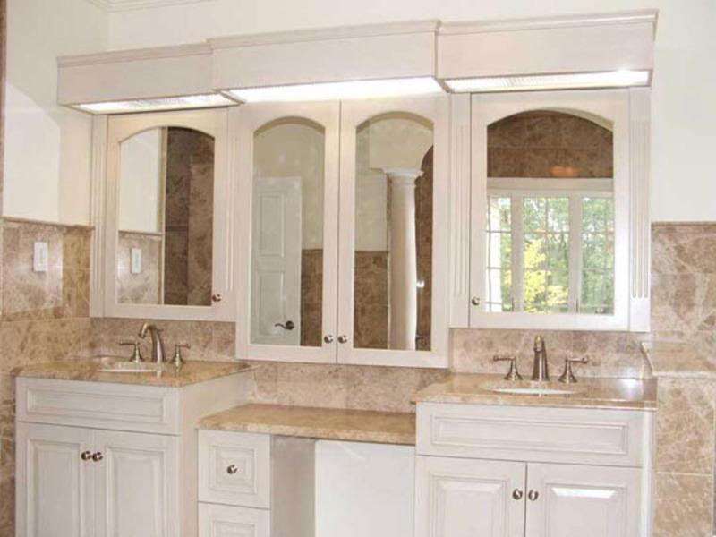 Double Sink Bathroom Vanity For Dual Capacity