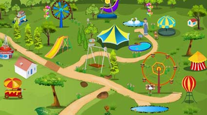 Kids Play Park Escape