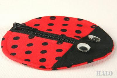 Ladybug pouch