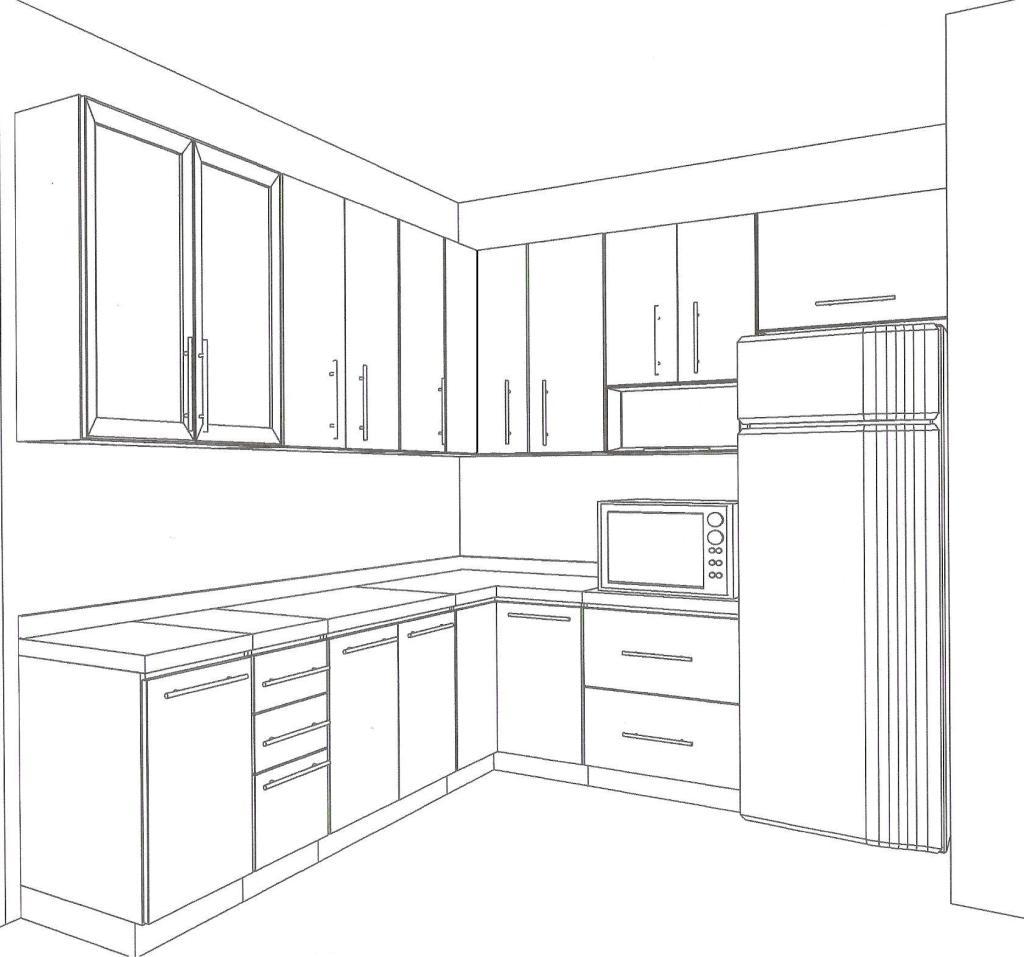 #595753 terça feira 15 de janeiro de 2013 1024x957 px Desenhos De Projetos De Cozinhas Planejadas_3369 Imagens