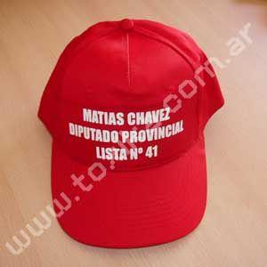 Gorras para campañas políticas