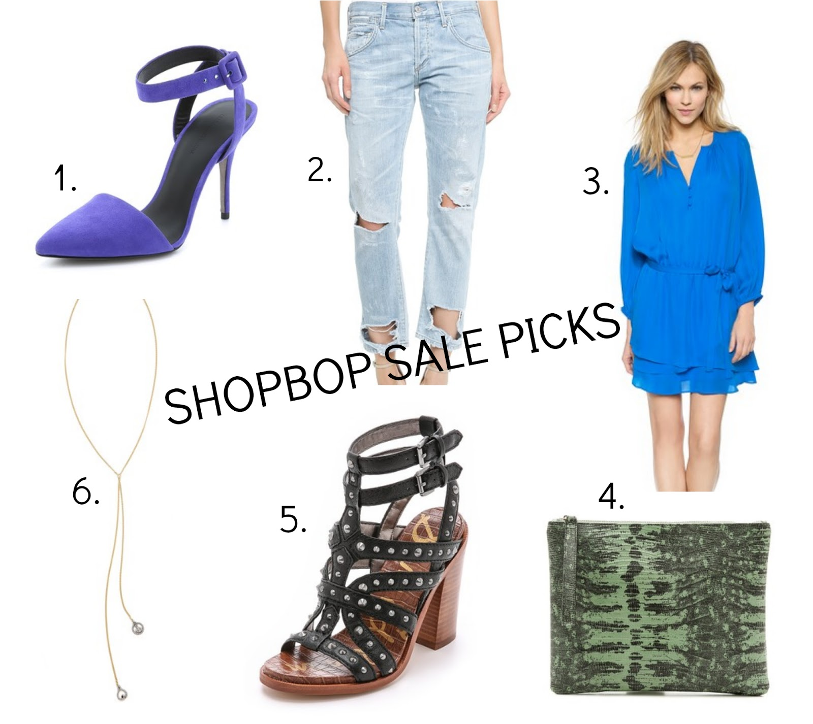Sale time with Shopbop