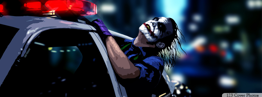 Batman-Joker Facebook cover photos 1