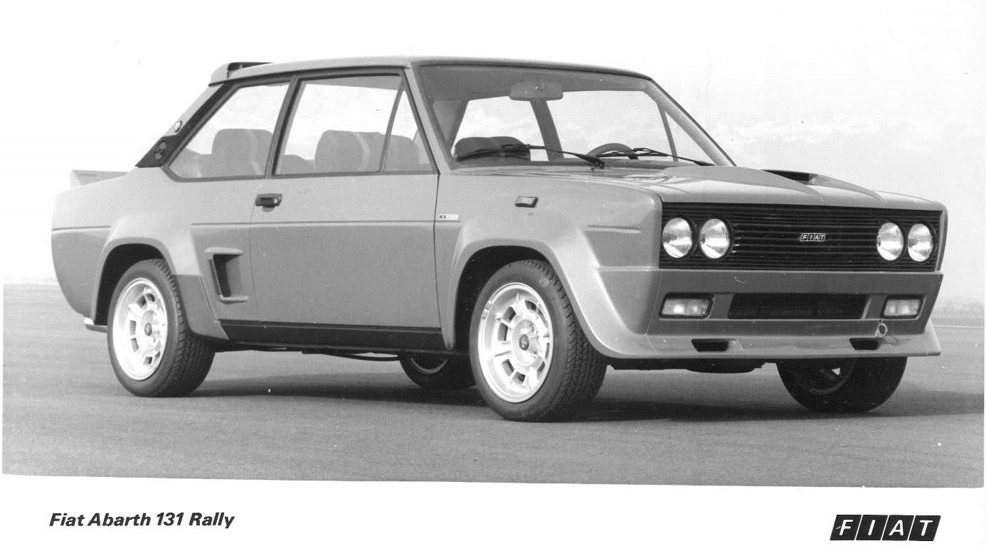 Fiat 131 Hem Yolda Hem Rallide Sekiz Silindir