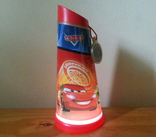 Disney Cars Go Glow Night Beam Tilt Torch from World's Apart review