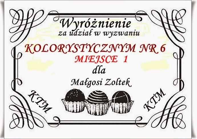 Wygrałam:)