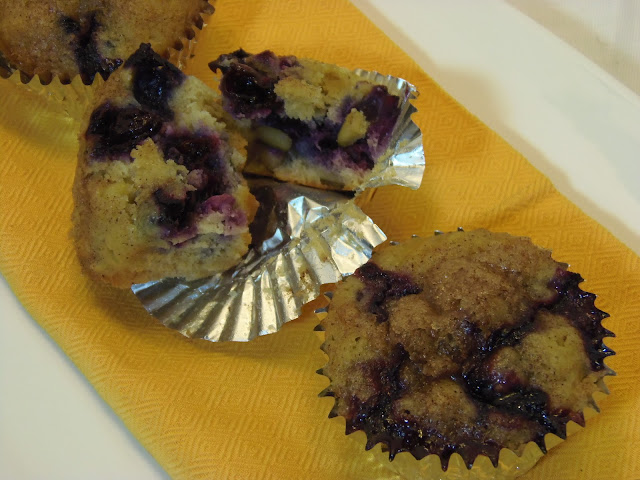 Banana, Blueberry and Lemon Muffin Recipe