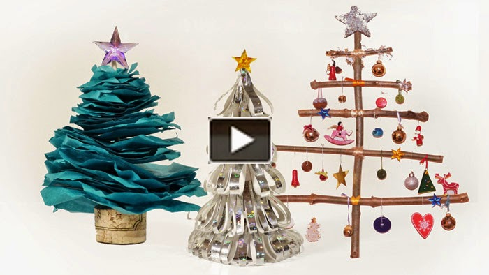 How to make a christmas tree creative ideas Creative christmas trees to make