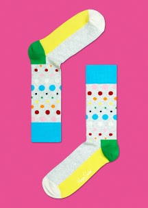 CALCETINES HAPPY SOCKS MODELO DISCO DOT