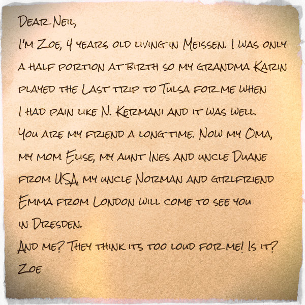A Letter Home