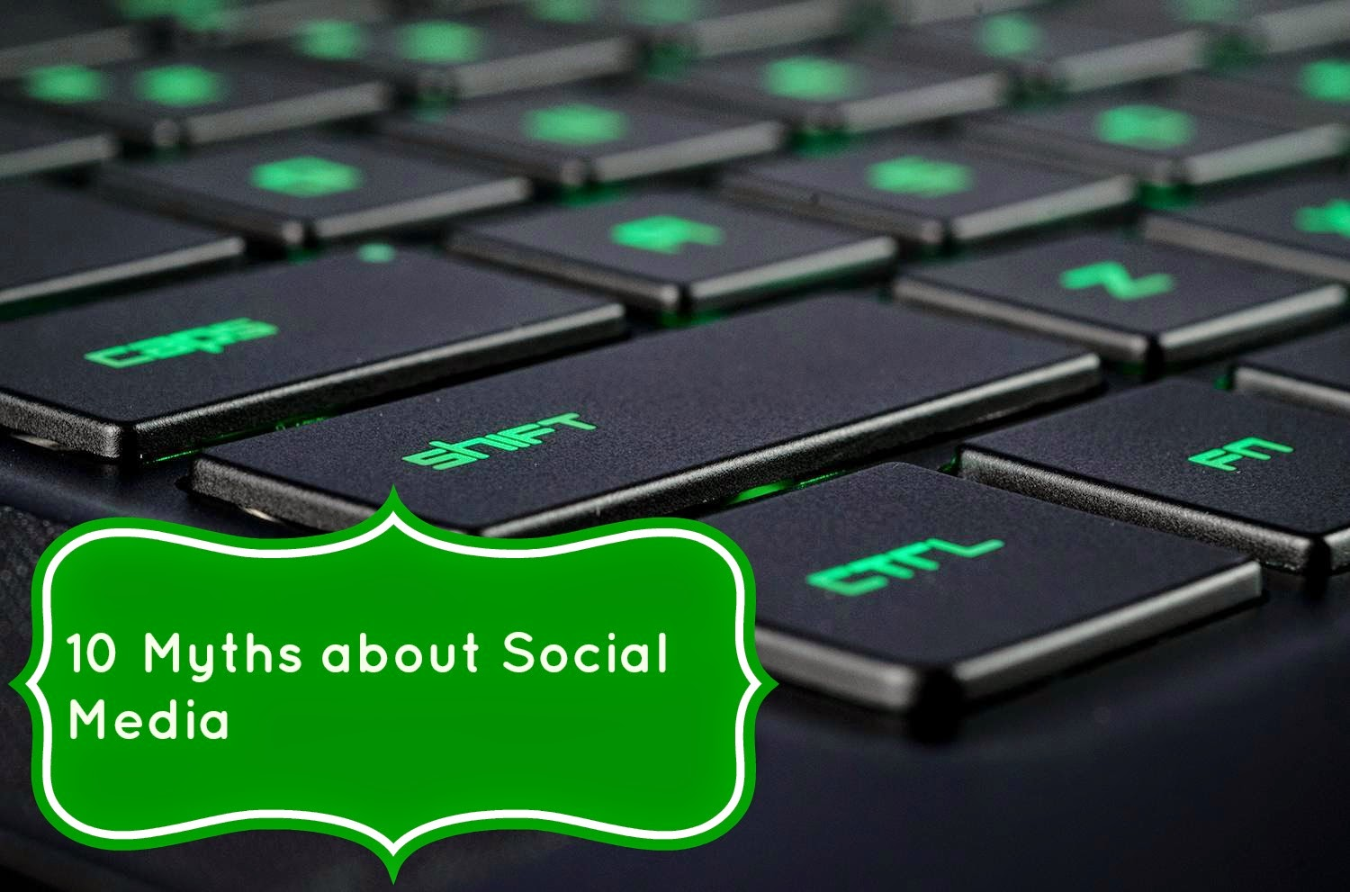 10 myths about social media