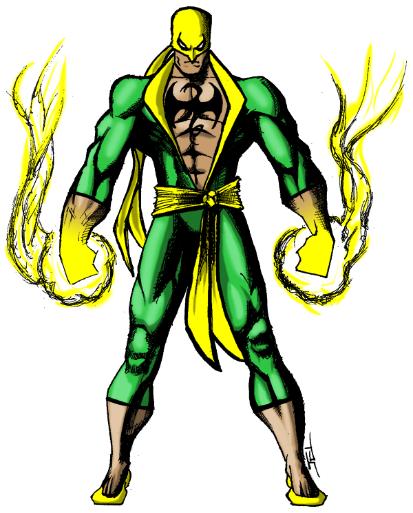 Origin of iron fist