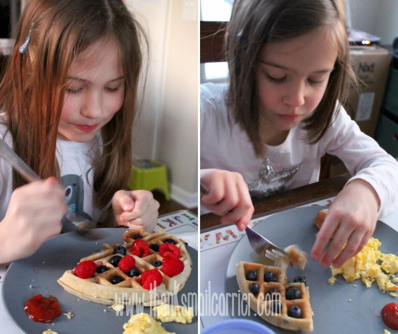kids waffles