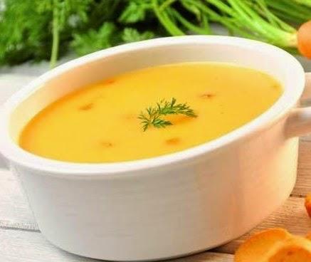 Sütlü havuç çorbası Tarifi Kolay Yapımı