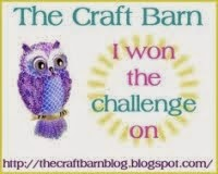 Craft Barn Two Weekly Challenge Winner