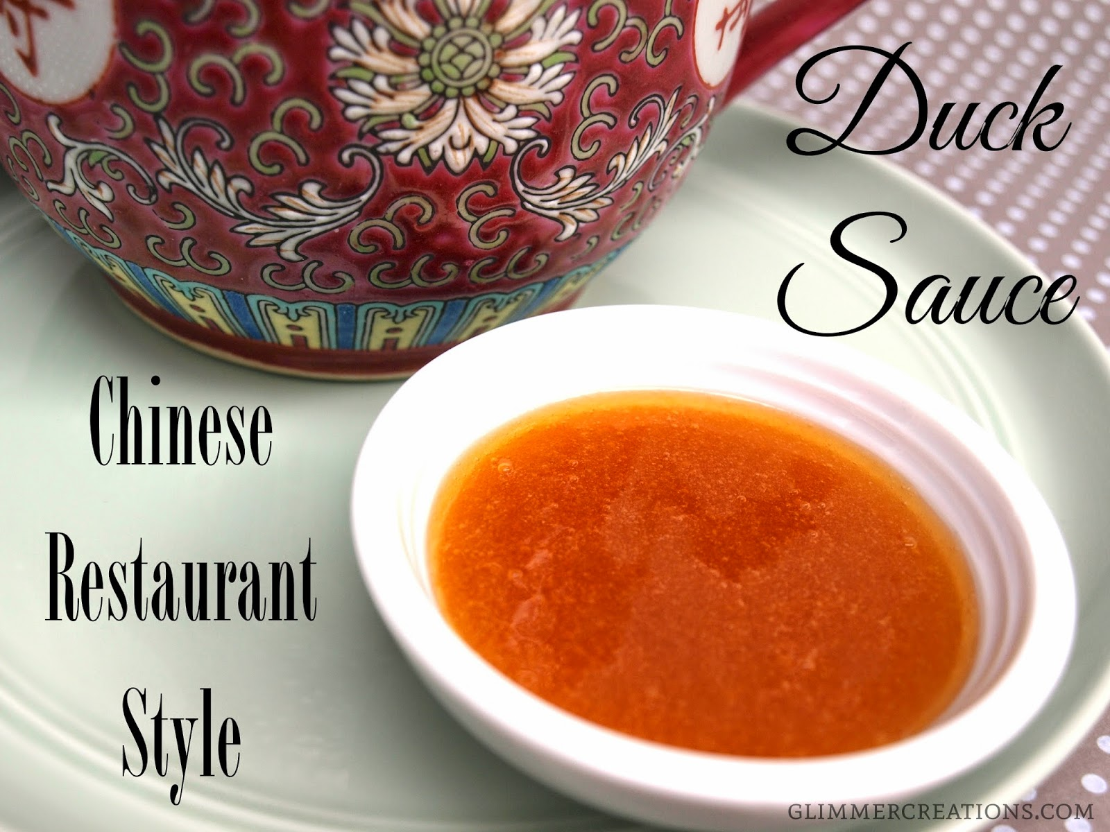 Glimmer creations chinese restaurant style duck sauce recipe the recipe forumfinder Image collections
