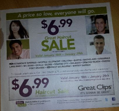 Haircut coupons orlando