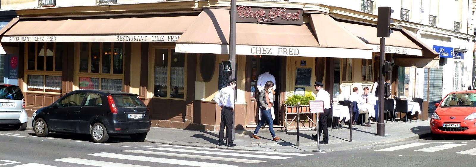 Metro porte maillot or bus pc1 or pc3 tel 01 45 74 20 48 closed sundays website http www bestrestaurantsparis com en restaurant paris chez fred html