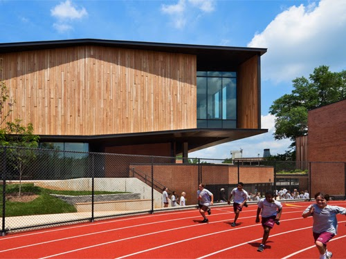 The Exterior, Too, Is Clad With Black Locust Harvested From A Single Source  In New Jersey.