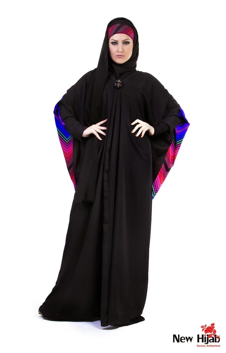 عبايات محجبات كويتية سوداء