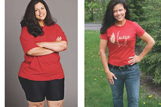an example of successful weight loss